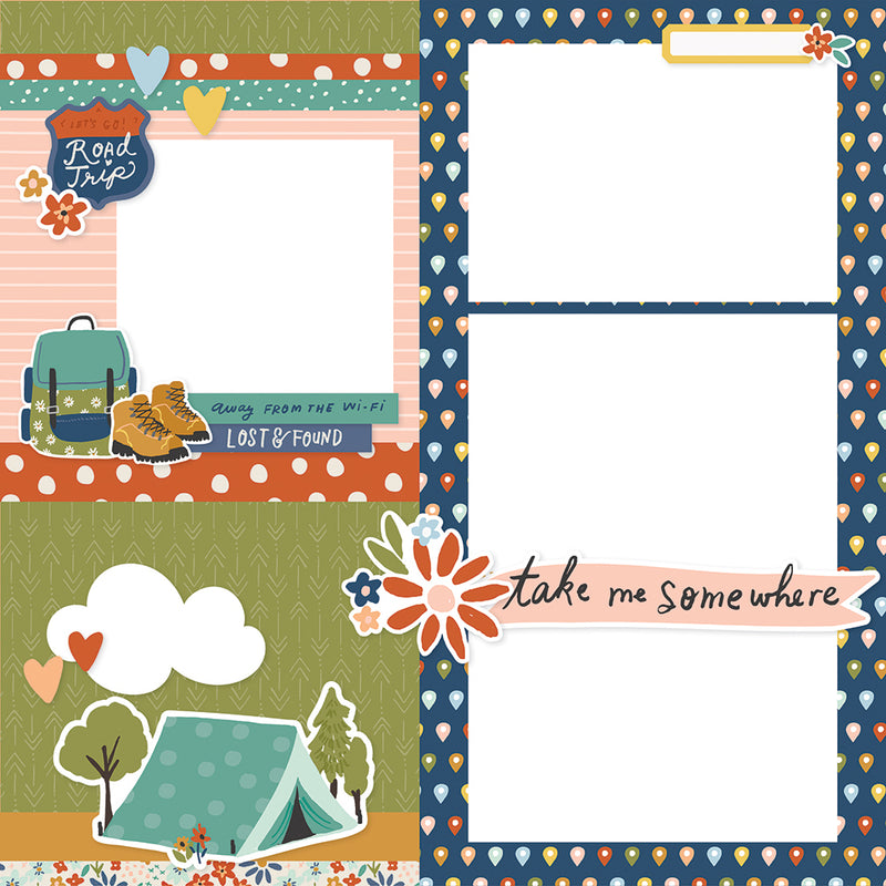 Simple Pages Page Kit - Let's Get Away