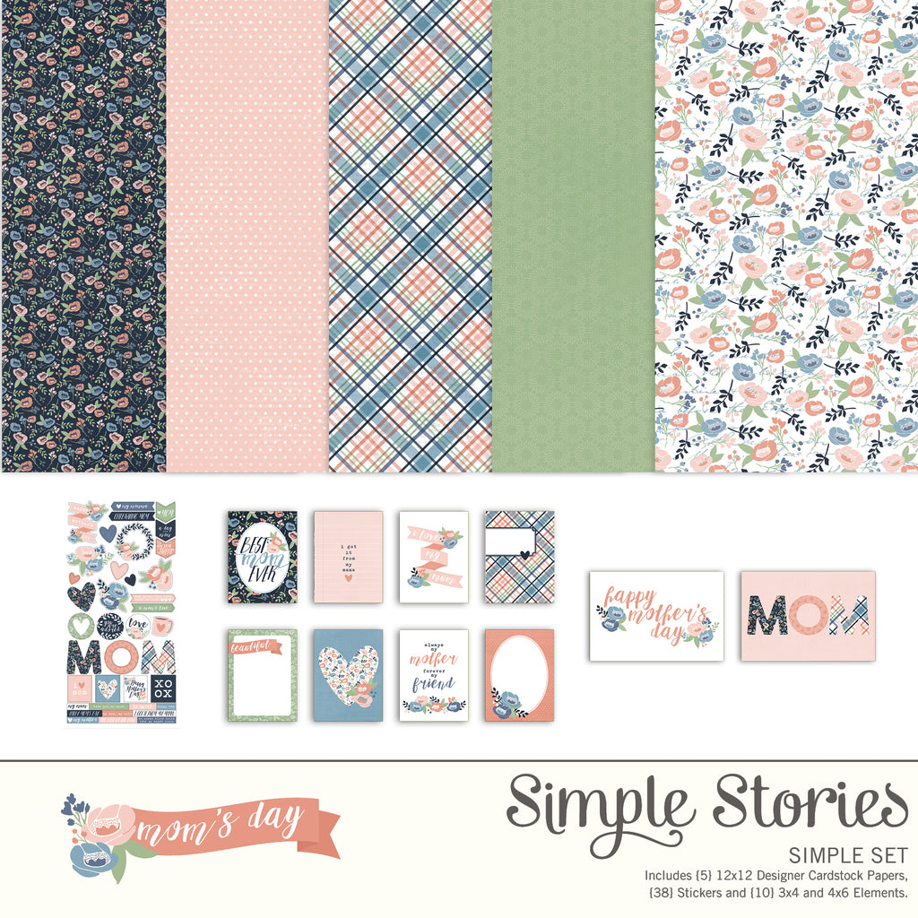 Mom's Day Digital Simple Set