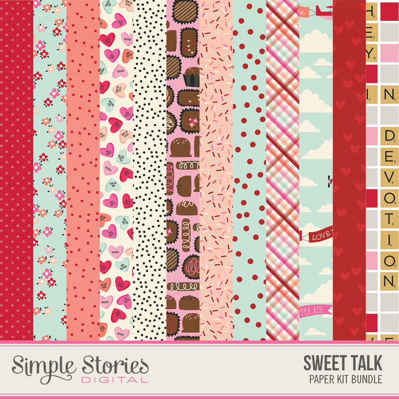 Birthday Blast Digital Paper Kit