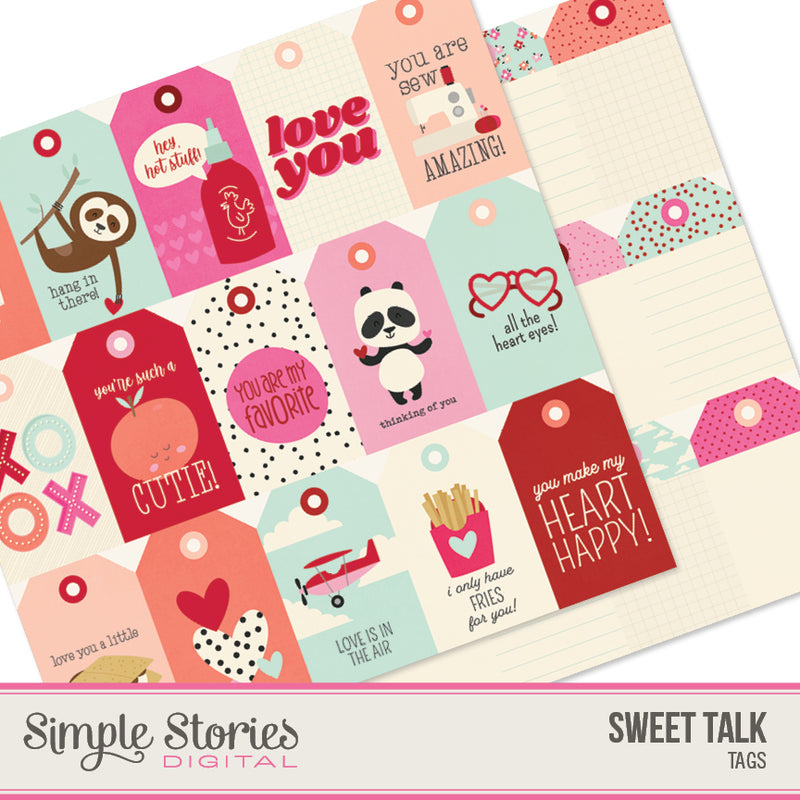 Sweet Talk Digital Tags