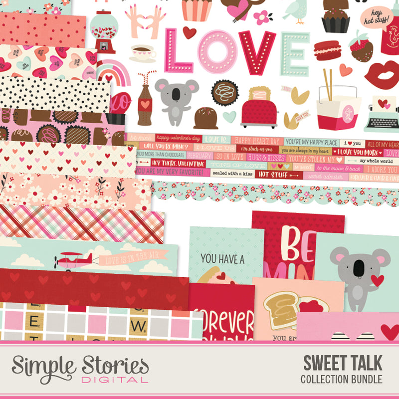 Kate & Ash Digital Paper Kit