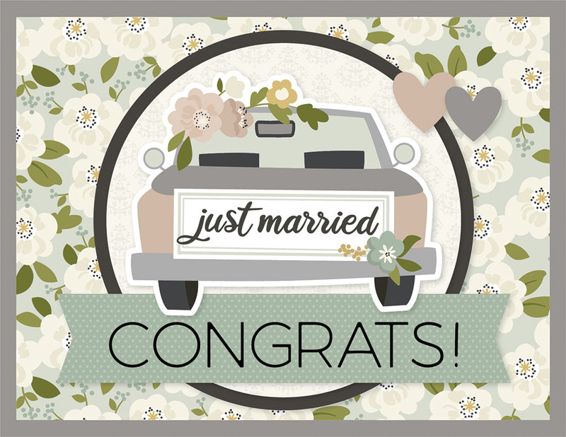 Simple Cards Card Kit - Just Married