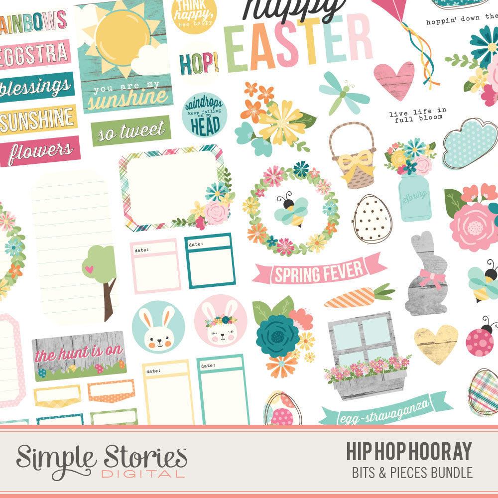Hip Hop Hooray Digital Bits Bundle