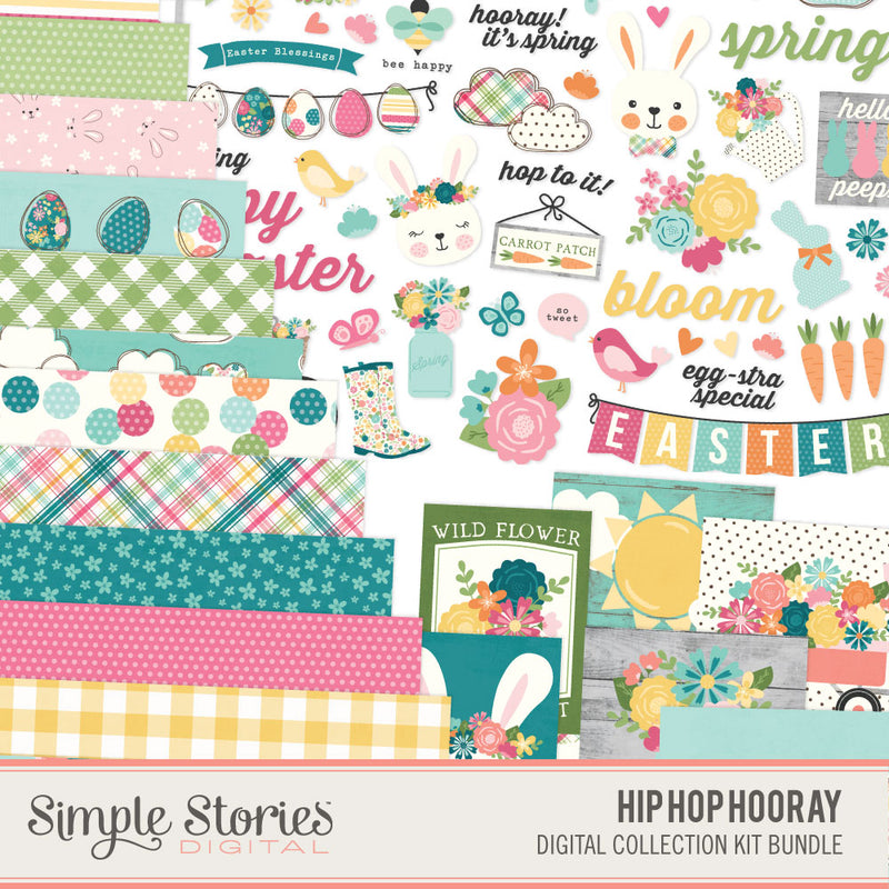 Hip Hop Hooray Digital Embellishment Bundle