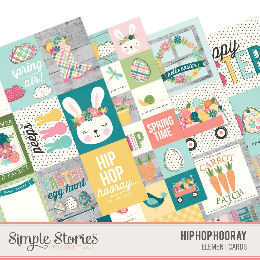 Hip Hop Hooray Digital Elements