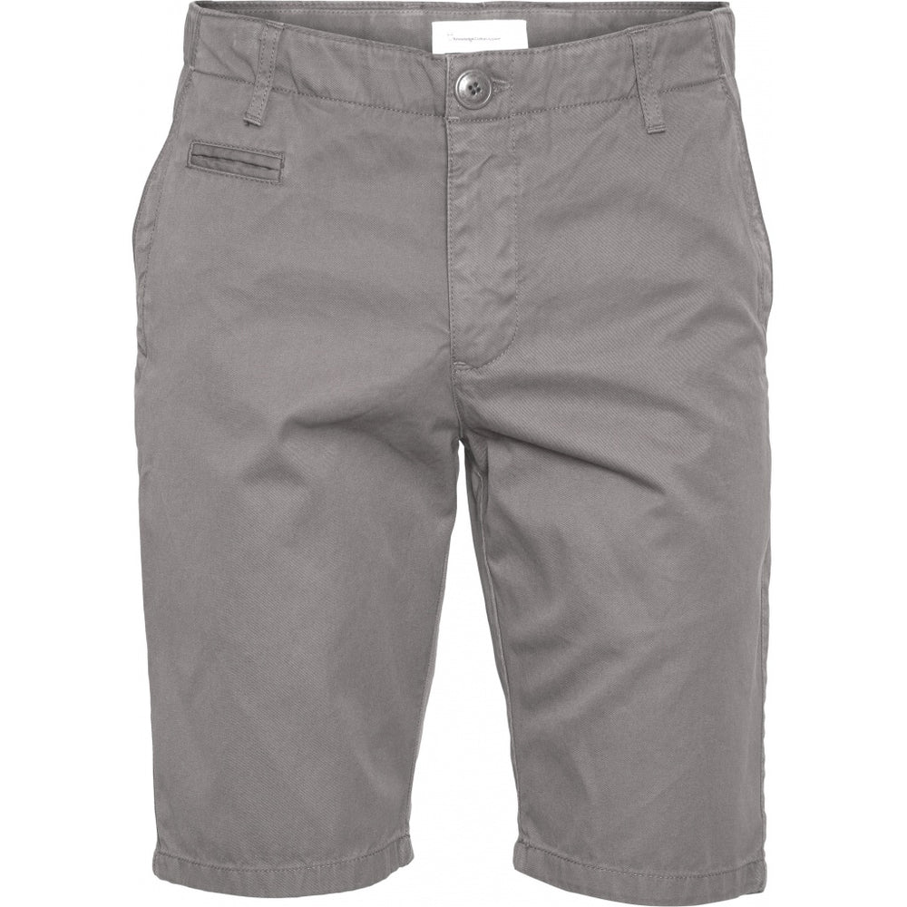 Load image into Gallery viewer, CHUCK regular chino shorts - GOTS/Vegan - alloy