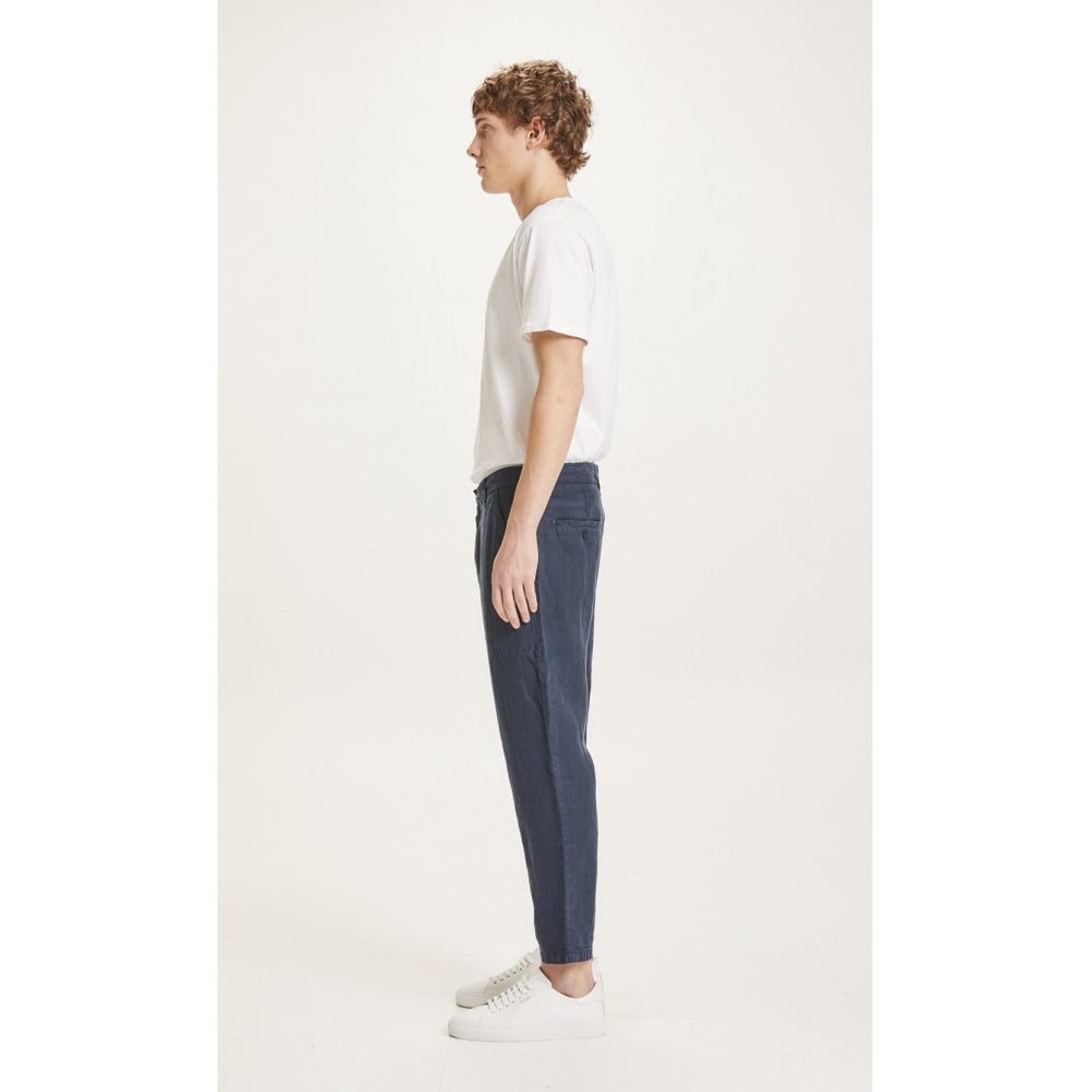 Load image into Gallery viewer, BOB loose linen pant - Vegan - total eclipse