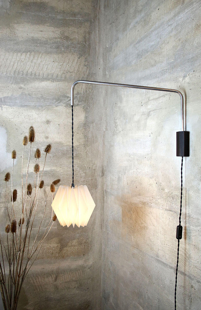 HARU - Folded Wall Lamp - With Light Switch