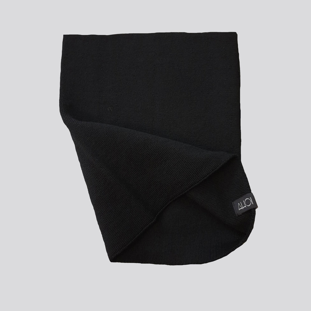 AHOI AHOI NECK WARMER - black