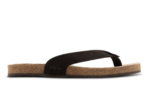SANDAL - BLACK VEGAN