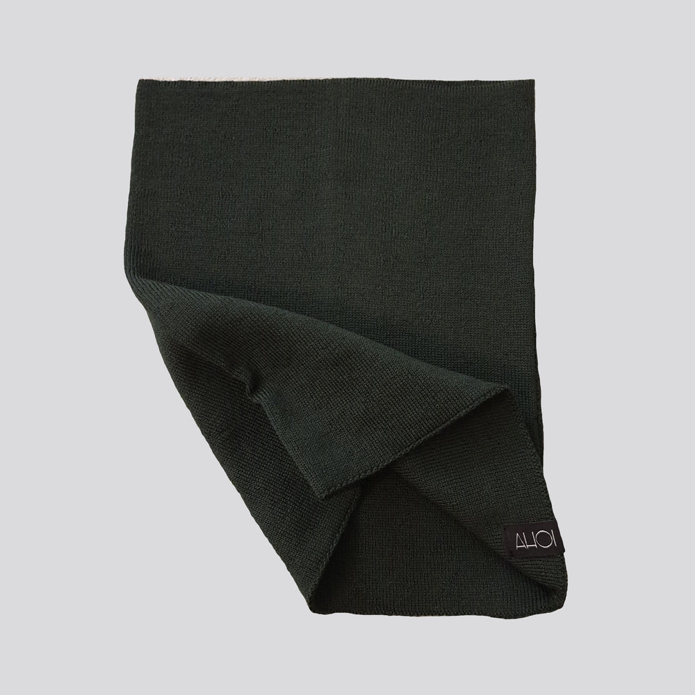 AHOI AHOI NECK WARMER - dark green