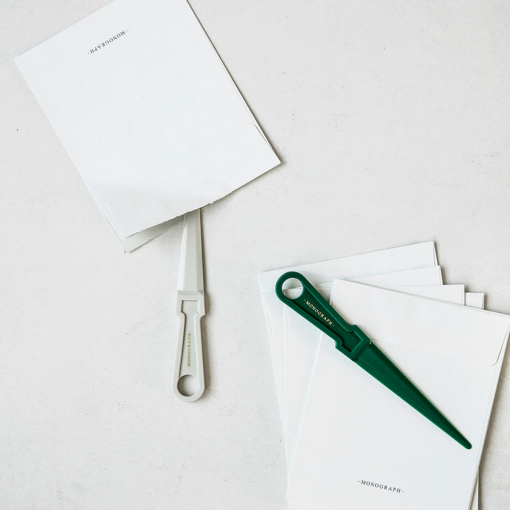 LETTER OPENER - LIGHT GREY