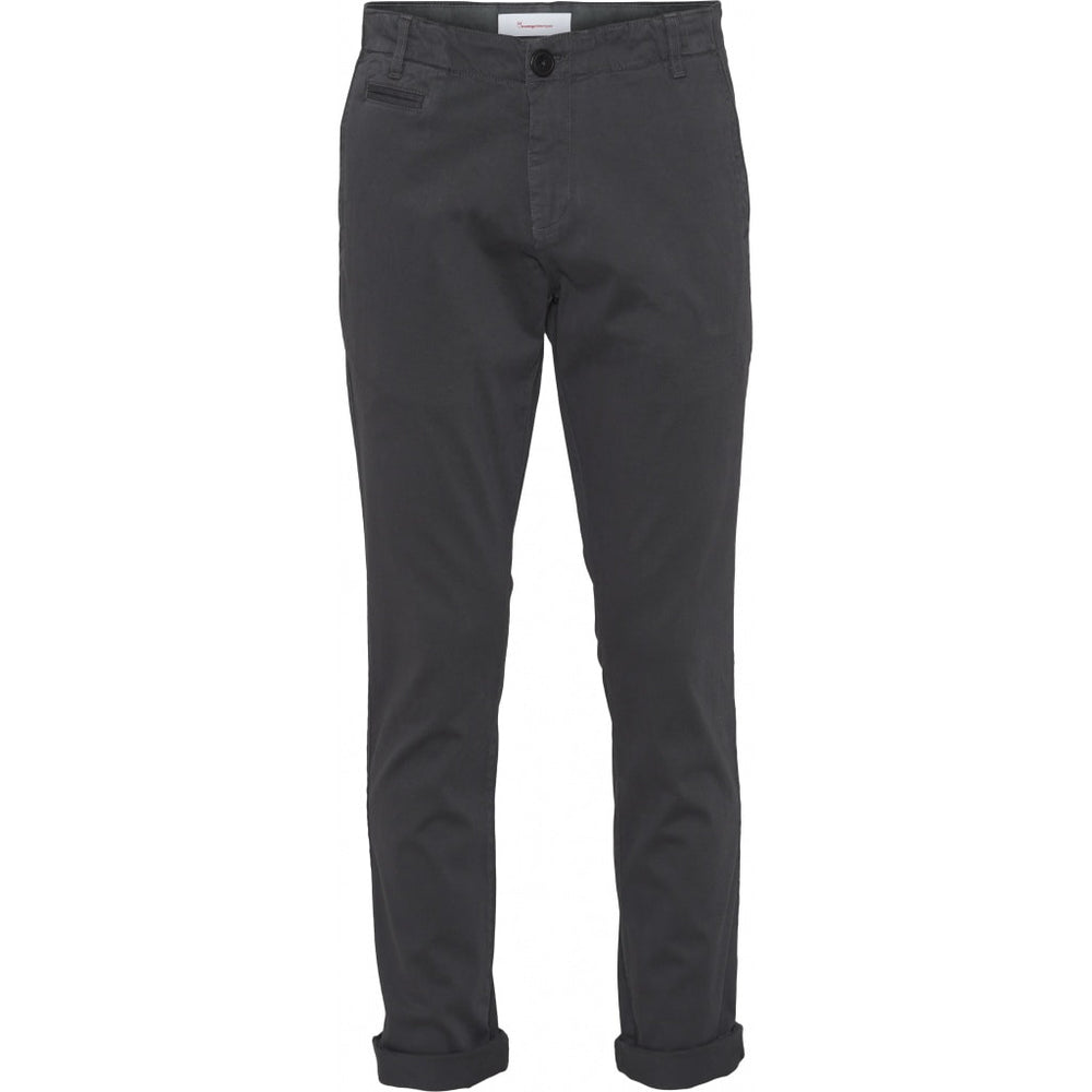 Load image into Gallery viewer, CHUCK regular stretched chino pant - GOTS/Vegan - Phantom