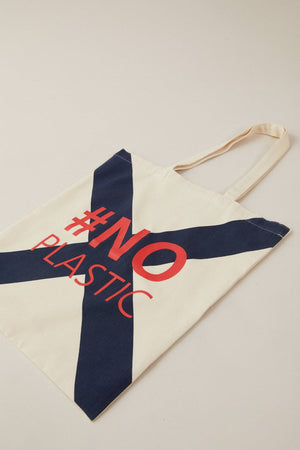 Load image into Gallery viewer, TOTE BAG #noplastic GOTS