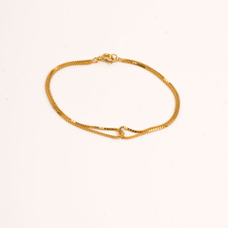 Multiple Duo Bracelet  - gold plated