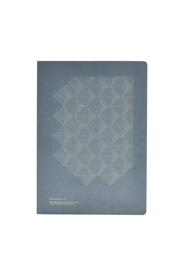 PRINT NOTE BOOK - grey