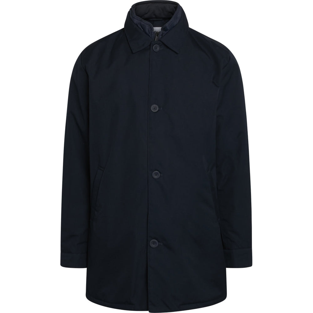 Arctic Canvas jacket with buttons - GRS/Vegan - dark blue