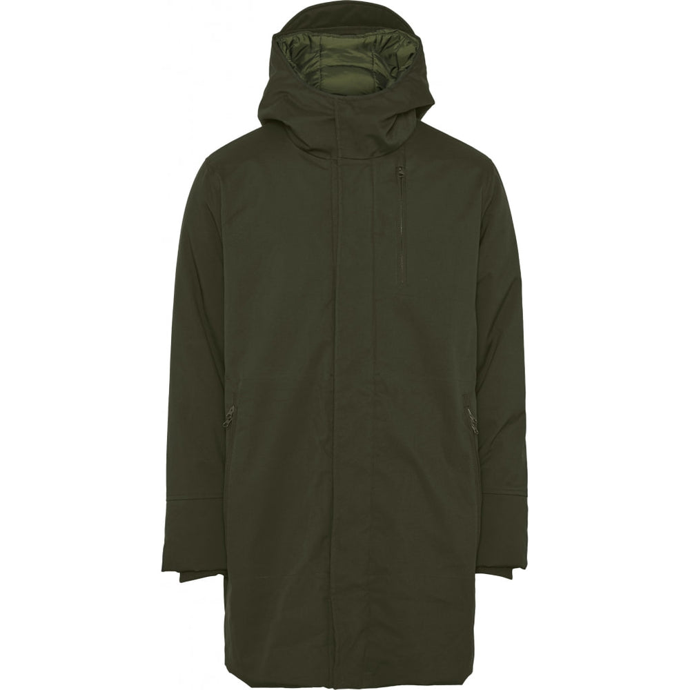 Climate shell jacket - GRS/Vegan - forrest night