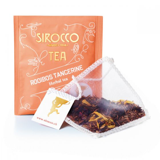 Load image into Gallery viewer, Rooibos Tangerine - 20 Sachets Organic Rooibos Tea with Tangerine