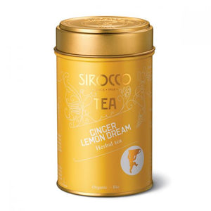 Ginger Lemon Dream Tin  with Organic Herbal Tea