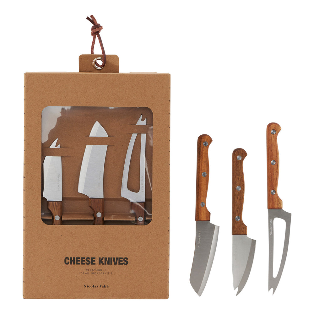 CHEESE KNIVES SET OF 3