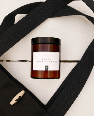 LUXURY CANDLE - Black Pomegranate