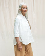 Stephanie Organic Cotton Shirt - off white