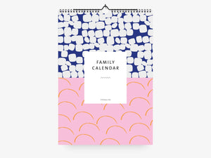 Family Wall Calendar / Pattern