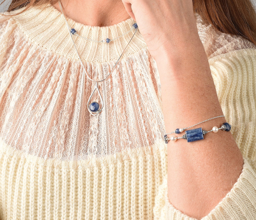 Sea You Around Kyanite Bracelet