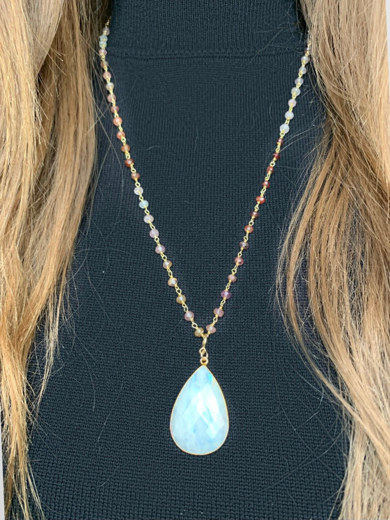 Candy Moonstone Necklace