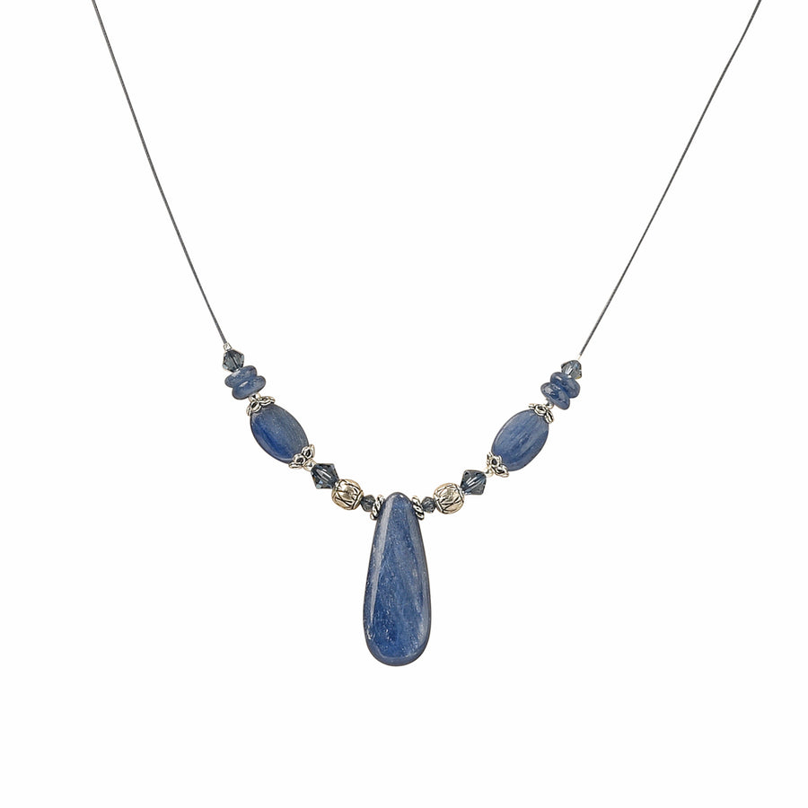 Flex Kyanite Necklace - Trezana