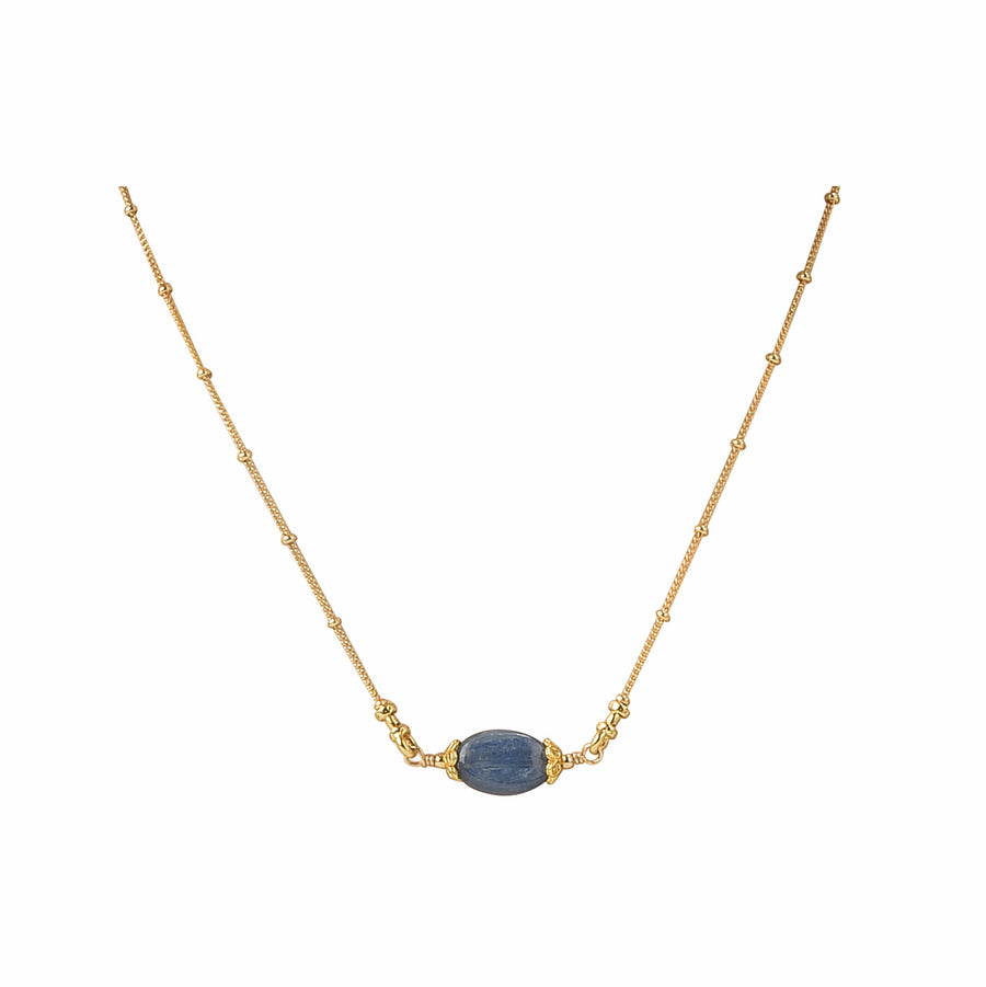 All Oval You Kyanite Necklace - Trezana