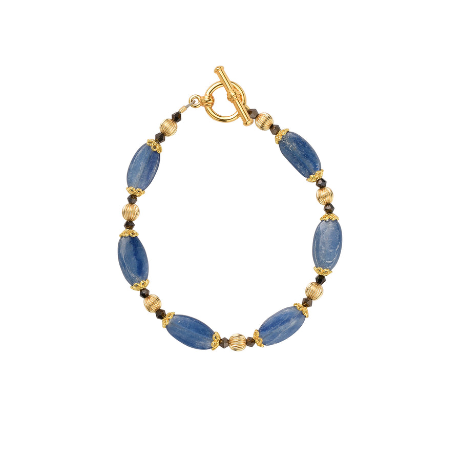 Golden Years Kyanite Bracelet - Trezana