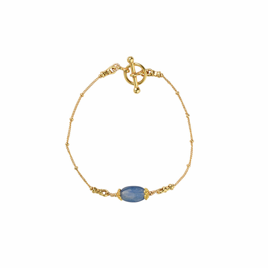 All Oval You Kyanite Bracelet - Trezana