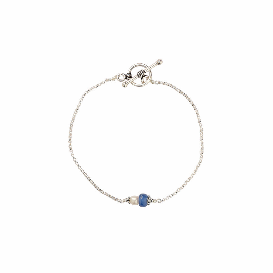 Sea You Around Kyanite Bracelet - Trezana
