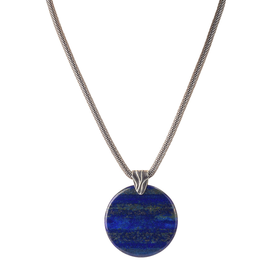 Blue Moon Lapis Necklace - Trezana