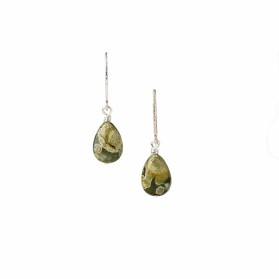 Dainty Drop Rainforest Earrings - Trezana