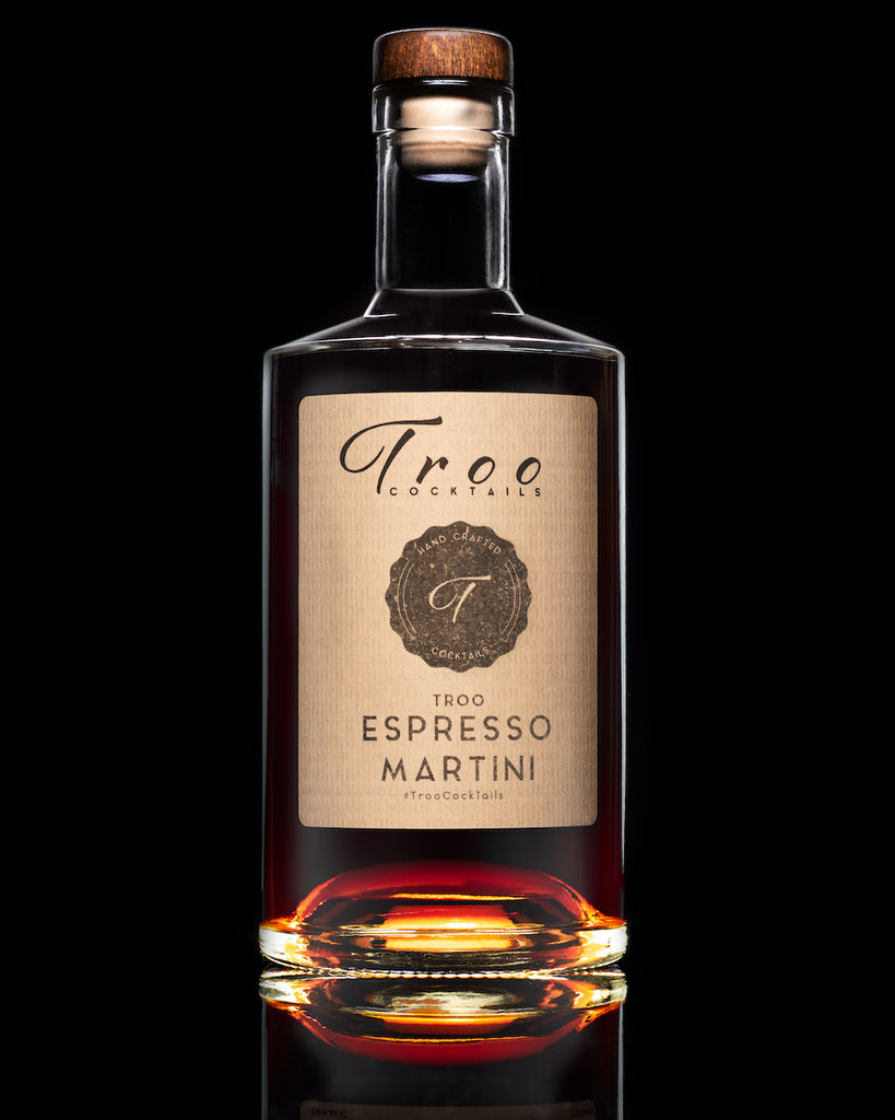 Troo Espresso Martini Cocktail - Troo Cocktails