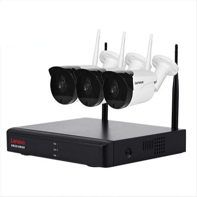 3 Wireless Cctv Cameras with NVR Kit 1080P 2MP Full HD Wifi Ip Cameras with Night Vision