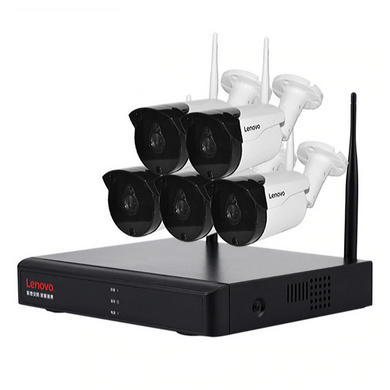 Wireless Cctv With NVR System 5 Wireless Cameras Kit 1080P Full HD Wifi Ip Cameras with Night Vision