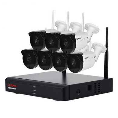 Wireless Cctv With NVR System 7 Wifi Cameras with NVR Kit 1080P Full HD Wifi Ip Cameras with Night Vision