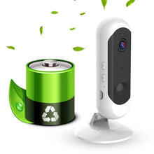 Load image into Gallery viewer, Battery Powered 100% Wireless CCTV Camera Wifi IP Camera with Smart Alarm