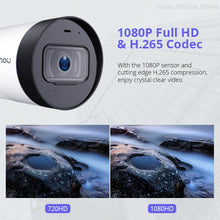 Load image into Gallery viewer, Wireless Bullet Camera 2MP by Dahua imou Built-in Microphone Alarm Notification 30M Night Vision Wifi IP Camera