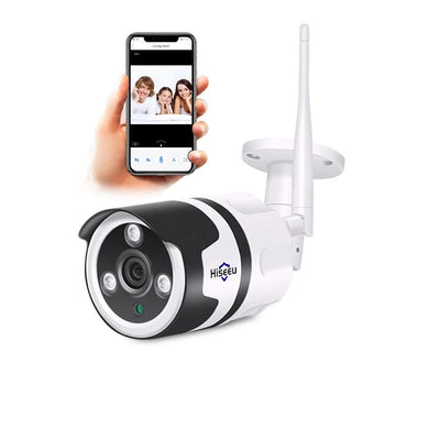 Mini Wireless Outdoor Home Security IP Camera Waterproof 2.0MP two way audio, TF Card Record, P2P