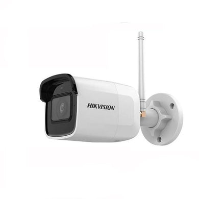 Wireless 2MP Wifi Bullet IP Camera by Hikvision with Audio Night Vision With SD card slot H.265+ Waterproof