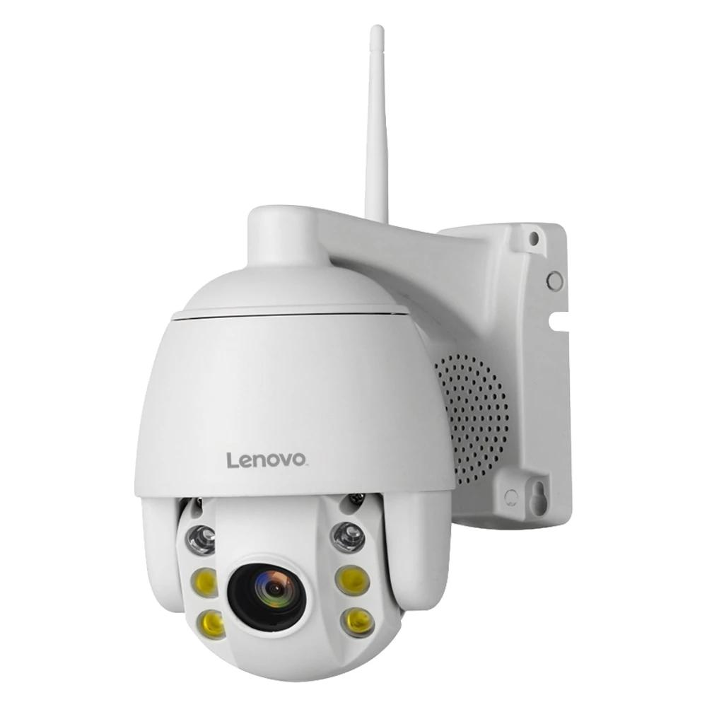 Mini 2.5 Inch PTZ Speed Dome WIFI IP Camera by Lenovo 1080P Outdoor 5X Zoom 60m Night Vision Two Way Audio