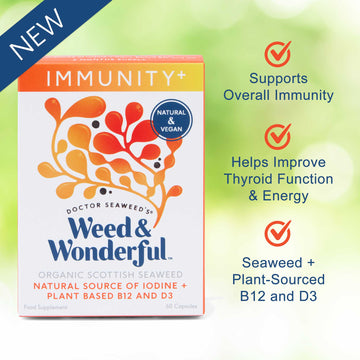 Introducing our new Weed & Wonderful® Immunity+ Seaweed Capsules