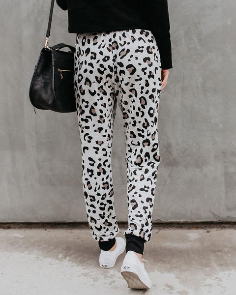 Cheetos Print Drawstring Loose Taper Pants