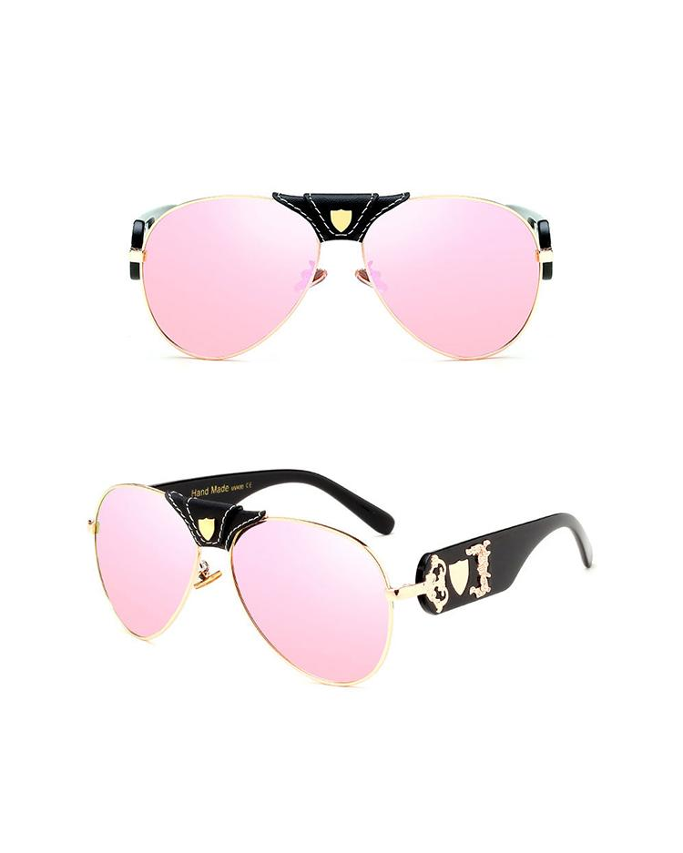 Fashion Gradient Mirror Ultraviolet Sunglasses