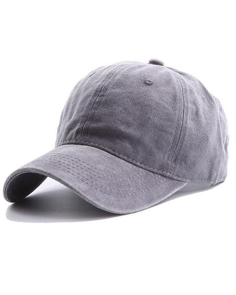 Washable Cotton Baseball Hat